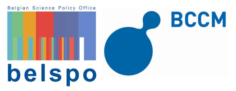 Belspo BCCM logo